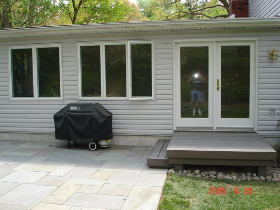 custom landings and patios
